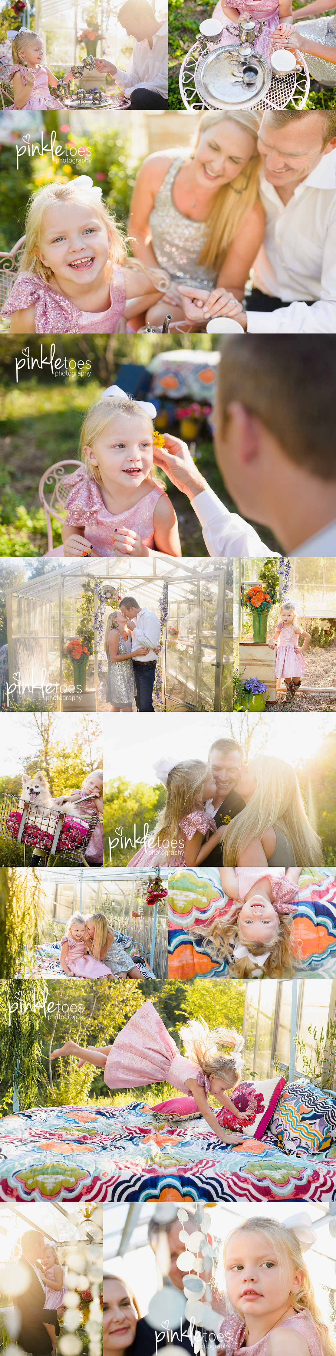 austin-family-photography-photo-session-child-girl-in-greenhouse-dog-wildflowers-texas