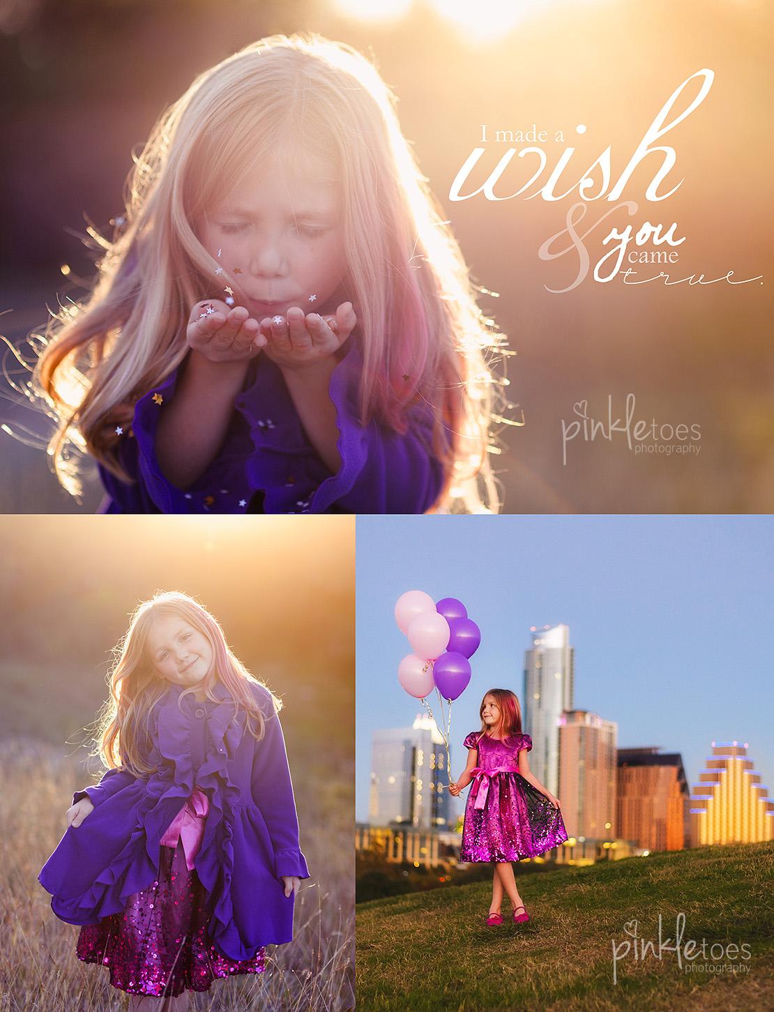 celebrating-daughter-birthday-girl-wish-stars-downtown-austin-balloons