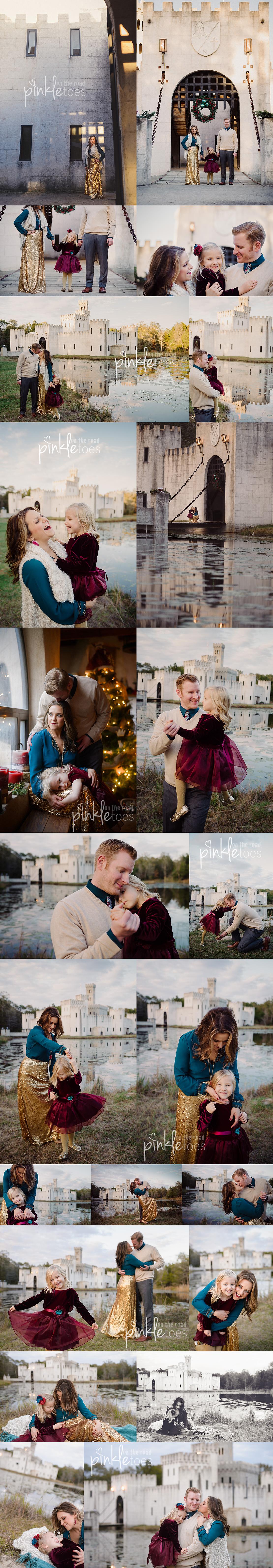 family-photo-session-austin-texas-castle-sequin-skirt-princess-fairytale