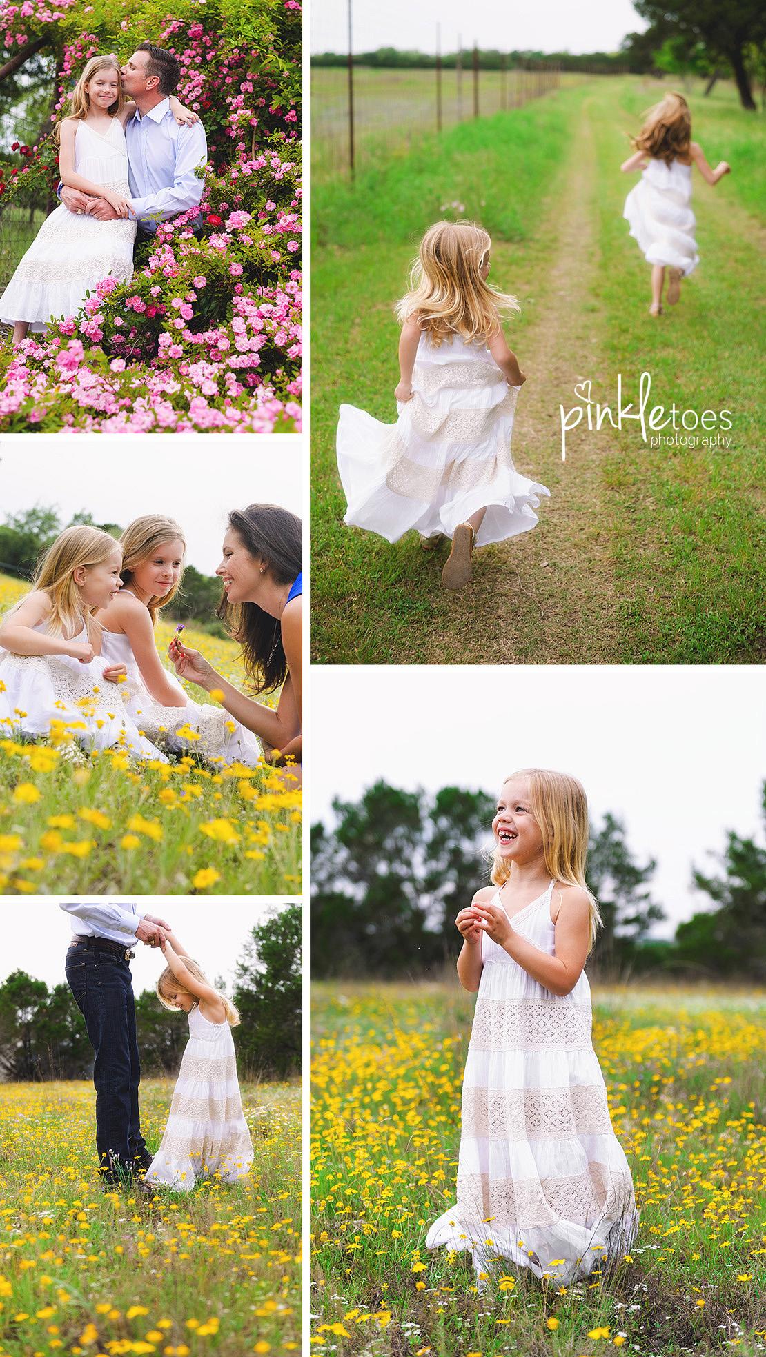 austin-family-classic-portraiture-girls-white-dresses-texas-wildflowers-stream-08