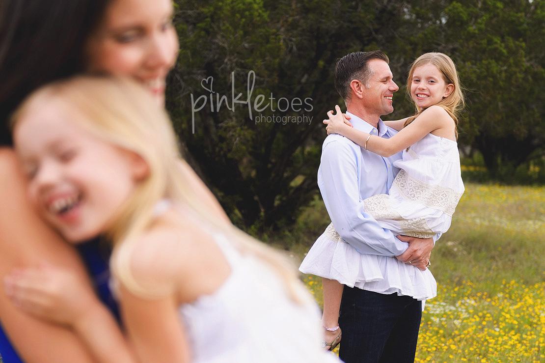 austin-family-classic-portraiture-girls-white-dresses-texas-wildflowers-stream-12