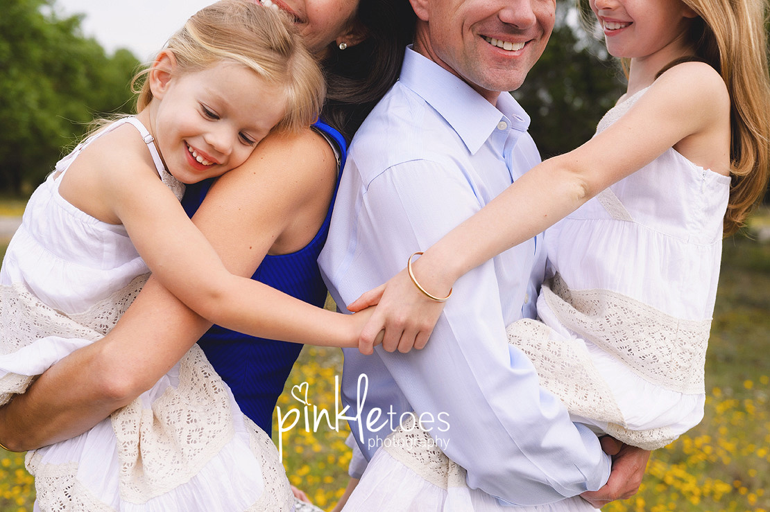 austin-family-classic-portraiture-girls-white-dresses-texas-wildflowers-stream-13