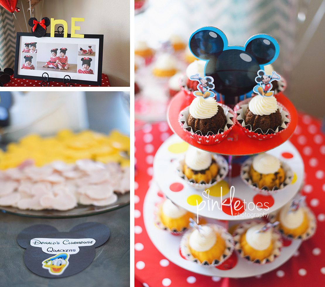 Mickey Mouse Clubhouse Themed First BirthdayPinkle Toes Photography