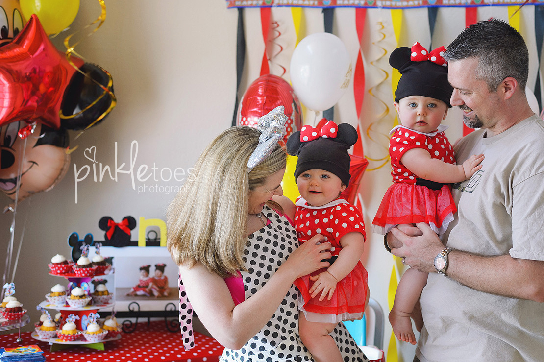 mickey mouse girl party