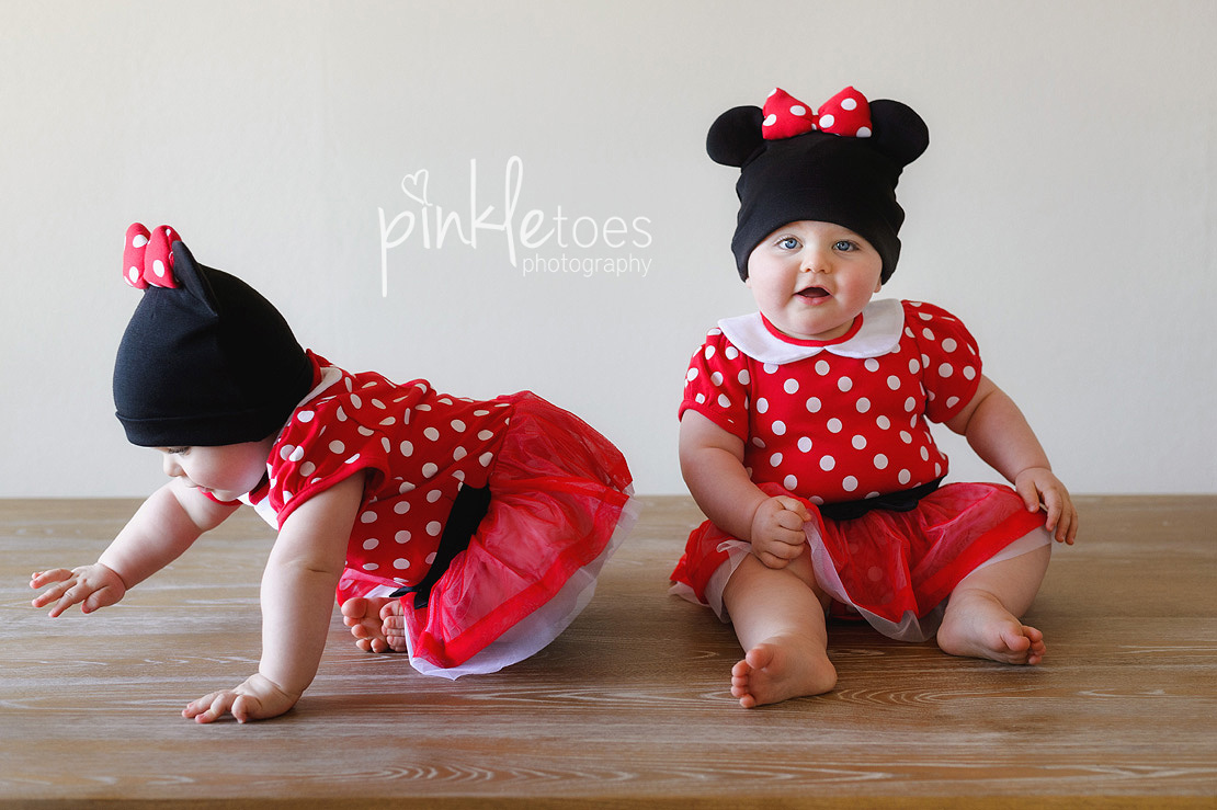 minnie-mouse-austin-twins-birthday-outfit-01  sc 1 st  Pinkle Toes Photography & Mickey Mouse Clubhouse Themed First BirthdayPinkle Toes Photography